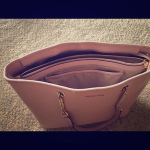 Micheal Kors Pink Jet Travel Bag